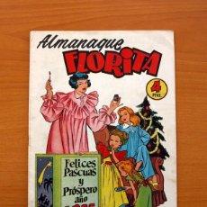 Tebeos: FLORITA - ALMANAQUE 1955 - EDICIONES CLIPER - TAMAÑO 26X18. Lote 101626127