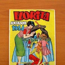 Tebeos: FLORITA - ALMANAQUE 1954 - EDICIONES CLIPER - TAMAÑO 26X18. Lote 101626267
