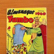 Tebeos: YUMBO - ALMANAQUE 1960 - EDICIONES CLIPER - TAMAÑO 26X18. Lote 101627323