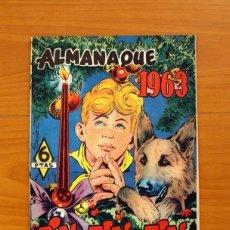 Tebeos: RIN-TIN-TIN - ALMANAQUE 1963 - EDITORIAL MARCO - TAMAÑO 26X18'5. Lote 101628195