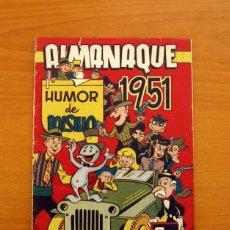 Humor de bolsillo - Almanaque 1951 - Editorial Hispano americana - Tamaño 24x17
