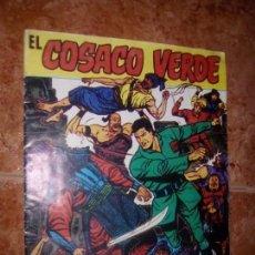 Tebeos: EL COSACO VERDE.ALMANAQUE PARA 1961. Lote 102391479