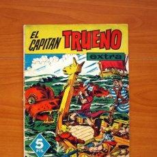 Tebeos: EL CAPITÁN TRUENO EXTRA - ALMANAQUE 1961 - EDITORIAL BRUGUERA - TAMAÑO 26X19. Lote 102595667