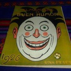 Tebeos: ALMANAQUE BUEN HUMOR 1926, 1930 Y 1931. UNA PESETA. MUY DIFÍCILES.. Lote 37327620