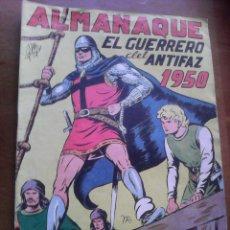 Tebeos: EL GUERRERO DEL ANTIFAZ. ALMANAQUE DE 1950. Lote 103565055