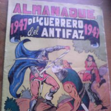 Tebeos: EL GUERRERO DEL ANTIFAZ. ALMANAQUE DE 1947. Lote 103565103
