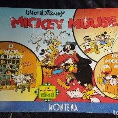 Tebeos: MICKEY MOUSE ( TIRAS PERIODISTICAS 1948 ). Lote 105647227