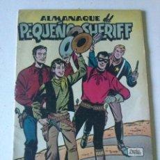 Tebeos: PEQUEÑO SHERIFF, ALMANAQUE 1.951. ORIGINAL. EDITORIAL HISPANO AMERICANA.. Lote 107779487
