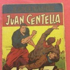 Tebeos: JUAN CENTELLA, ALMANAQUE, 1.947. ORIGINAL EDITORIAL HISPANO AMERICANA.. Lote 107782403