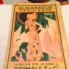 Tebeos: ALMANAQUE PARISIENSE 1932. Lote 107859618