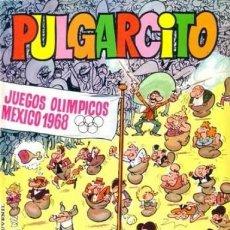 Tebeos: PULGARCITO, EXTRA DE VACACIONES 1.968. ORIGINAL CON EL SHERIFF KING, Y MORTADELO Y FILEMÓN.. Lote 107881115