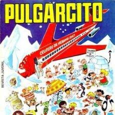 Tebeos: PULGARCITO, EXTRA DE VACACIONES, 1.967. ORIGINAL CON EL SHERIFF KING Y MORTADELO Y FILEMÓN.. Lote 107881759