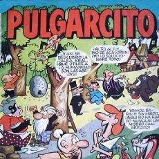 Tebeos: PULGARCITO, EXTRA DE VACACIONES, 1.957. ORIGINAL NUEVO. DIBUJANTES G. IRANZO, MANUEL VAZQUEZ.. Lote 107886175