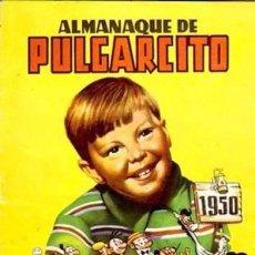 Tebeos: PULGARCITO, ALMANAQUE 1.950. ORIGINAL. DIBUJANTES, G. IRANZO, ESCOBAR, PEÑARROYA,. Lote 107888227