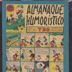 Livros de Banda Desenhada: COMIC COLECCION TBO ALMANAQUE HUMORISTICO 1950. Lote 107965591