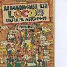Livros de Banda Desenhada: ALMANAQUE DE LOCOS 1947. Lote 109237923