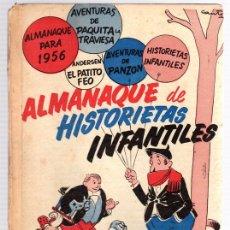 Tebeos: ALMANAQUE DE HISTORIETAS INFANTILES. ALMANAQUE PARA 1956.. Lote 110871139