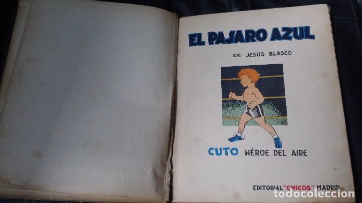 Tebeos: EL PAJARO AZUL ( CUTO HEROE DEL AIRE ) POR J. BLASCO - Foto 5 - 112223283