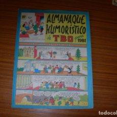 Tebeos: TBO ALMANAQUE HUMORISTICO PARA 1981 EDITA BUIGAS . Lote 115802143