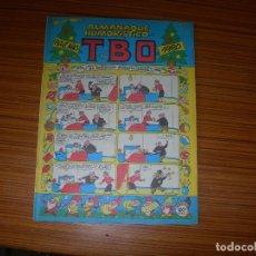 Tebeos: TBO ALMANAQUE HUMORISTICO PARA 1980 EDITA BUIGAS. Lote 206913873
