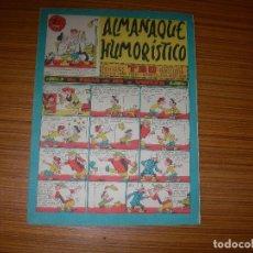 Tebeos: TBO ALMANAQUE HUMORISTICO PARA 1963 EDITA BUIGAS . Lote 115807151