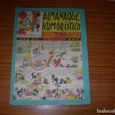 Tebeos: TBO ALMANAQUE HUMORISTICO PARA 1954 EDITA BUIGAS . Lote 115811299