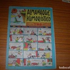 Tebeos: TBO ALMANAQUE HUMORISTICO PARA 1953 EDITA BUIGAS . Lote 115811711