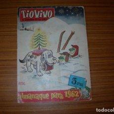 BDs: TIO VIVO ALMANAQUE PARA 1962 EDITA BRUGUERA . Lote 116058475