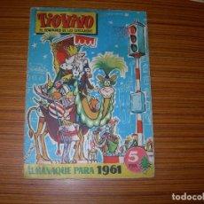 Livros de Banda Desenhada: TIO VIVO ALMANAQUE PARA 1961 EDITA BRUGUERA . Lote 116058579