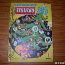 Livros de Banda Desenhada: TIO VIVO ALMANAQUE PARA 1960 EDITA BRUGUERA. Lote 179401857