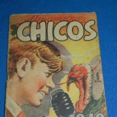 Tebeos: (M6) ALMANAQUE CHICOS 1949 , SEÑALES DE USO , PORTADA DE J BLASCO. Lote 118150227