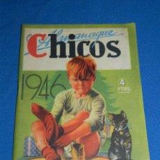 Tebeos: (M6) ALMANAQUE CHICOS 1946 , PORTADA DE J BLASCO , BUEN ESTADO. Lote 118150483