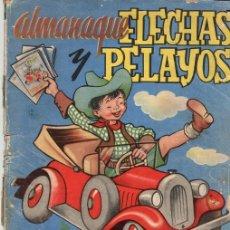 BDs: ALMANAQUE FLECHAS Y PELAYOS AÑO 1948. Lote 118782618