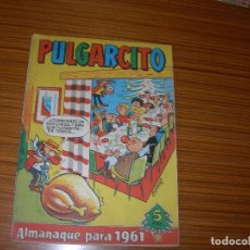 Livros de Banda Desenhada: PULGARCITO ALMANAQUE PARA 1961 EDITA BRUGUERA . Lote 118837627