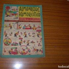 Tebeos: TBO ALMANAQUE HUMORISTICO PARA 1955 EDITA BUIGAS . Lote 119984203