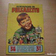 Tebeos: ALMANAQUE DE PULGARCITO - AÑO 1950 - BUEN ESTADO - BRUGUERA. Lote 120064531