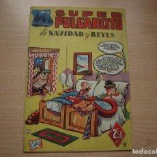 Tebeos: SUPER PULGARCITO - DE NAVIDAD Y REYES - AÑO 1949 - BUEN ESTADO - BRUGUERA. Lote 120064783