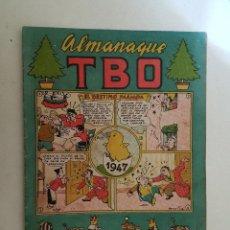 Tebeos: TBO. ALMANAQUE 1947. BUEN ESTADO.. Lote 121165679