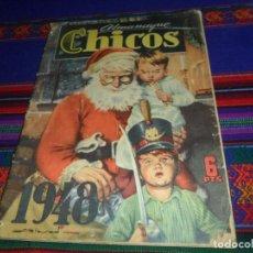Tebeos: BUEN PRECIO. ALMANAQUE CHICOS 1948. 6 PTS. . Lote 121609419