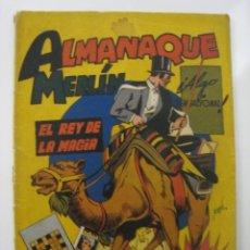 Tebeos: MERLIN ALMANAQUE 1944. EDITORIAL HISPANO AMERICANA. Lote 121661299