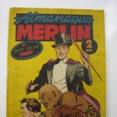 Tebeos: MERLIN ALMANAQUE 1945. EDITORIAL HISPANO AMERICANA. Lote 121662555