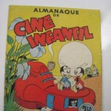 Tebeos: ALMANAQUE DE CINE INFANTIL. EDITORIAL BRUGUERA 1945. Lote 121663815