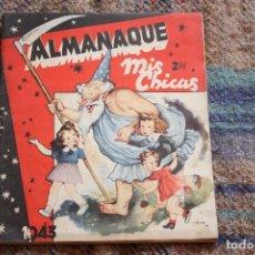 Tebeos: ALMANAQUE MIS CHICAS 1943. Lote 121725803