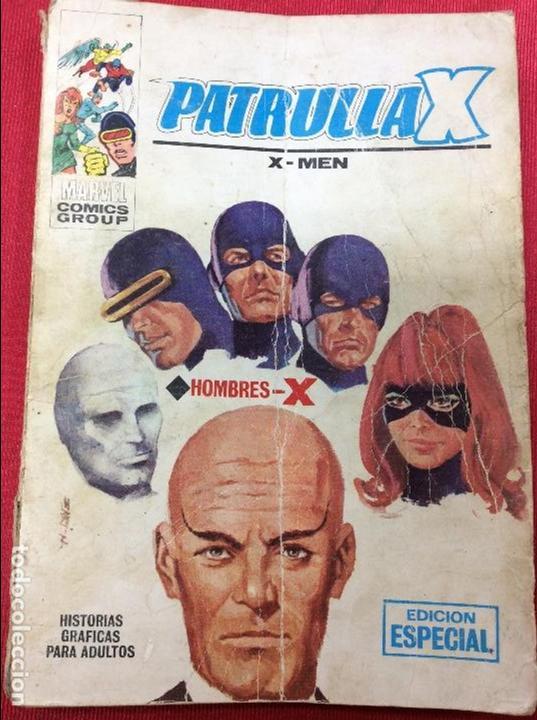 PATRULLAX X-MEN Nº1 (Tebeos y Comics - Tebeos Almanaques)