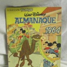 Tebeos: ALMANAQUE DUMBO AÑO 1964. Lote 122631271