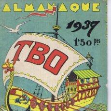 Livros de Banda Desenhada: ALMANAQUE DE TBO 1937. Lote 123801547