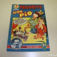 Tebeos: 1018- PULGARCITO LAS MEJORES HISTORIETAS DE DON PIO ORIGINAL 1949 MAGOS DEL LAPIZ. Lote 223262643