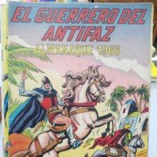 Tebeos: EL GUERRERO DEL ANTIFAZ - ALMANAQUE 1966 - ORIGINAL. Lote 171412859
