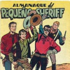Tebeos: ALMANAQUE PEQUEÑO SHERIFF 1951 ORIGINAL. Lote 126328543