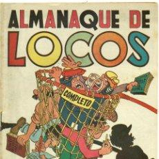 BDs: ALMANQUE LOCOS 1950 ORIGINAL. Lote 126328875